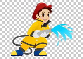 消防员内容消防部门消防车,消防员面部的PNG剪贴画演示文稿,男孩,