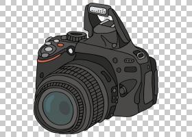 相机摄影绘图卡通,简单的相机PNG剪贴画电子产品,相机镜头,相机图