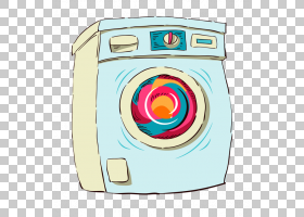 清洁绘图卡通,洗衣机PNG剪贴画电子,家具,画,手,洗,洗涤,洗衣机,