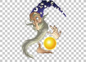 童话,巫师PNG剪贴画摄影,脊椎动物,卡通,虚构人物,向导,剪贴画,魔
