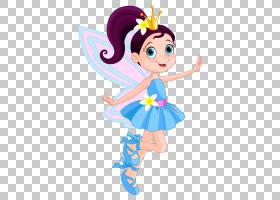 童话,精灵女孩PNG剪贴画蓝色,时尚女孩,脊椎动物,虚构人物,卡通,