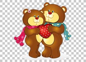 熊卡通绘图,熊爱可爱的情侣PNG剪贴画爱,哺乳动物,动物,carnivora