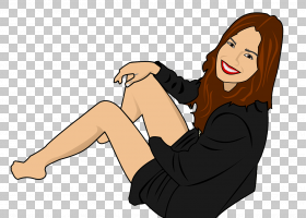 笑声女人微笑,卡通女孩微笑的脸PNG剪贴画卡通人物,脸,时尚女孩,
