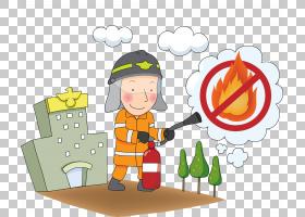 燃烧消防员,消防员PNG剪贴画建筑,幼儿,火灾警报,虚构人物,卡通,