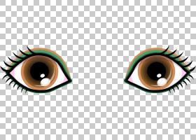 眼睛颜色卡通绿色,卡通棕色眼睛PNG剪贴画blue,royaltyfree,eye,o