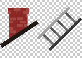 烟囱欧几里德,烟囱和梯子PNG剪贴画角,文本,三角形,徽标,卡通,黑