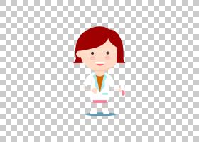 科学家欧几里得,拿着一位女科学家PNG剪贴画的试管玻璃,白色,儿童