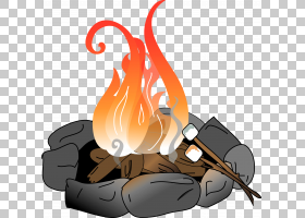 烧烤炉火坑营火篝火,Firepit的PNG剪贴画卡通,虚构人物,露营地,露