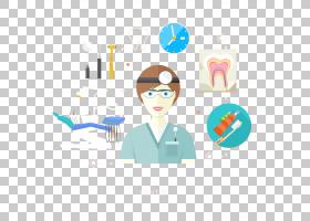 牙科,创意牙医和治疗工具材料PNG剪贴画施工工具,生日快乐矢量图