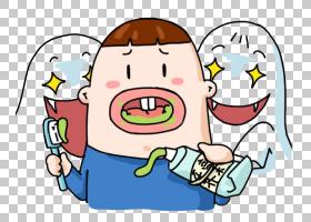 牙膏,有趣的牙膏PNG剪贴画杂项,儿童,手,海报,徽标,搞笑,卡通,四