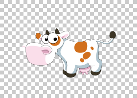 牛卡通,可爱的奶牛PNG剪贴画食品,动物,橙色,虚构人物,动物,材料,