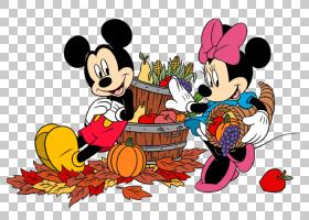 米老鼠米妮冥王星黛西鸭沃尔特迪斯尼公司,米老鼠PNG剪贴画食品,