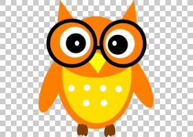 猫头鹰可扩展图形内容,无知识的PNG剪贴画橙色,卡通,免版税,鸟,谷