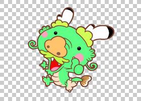 粽子武昌街道中国龙,多么可爱的小龙! PNG剪贴画爱,叶,龙,人,爱