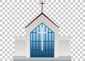 教堂教堂卡通绘图,教堂建筑PNG剪贴画角度,建筑,对称性,窗口,小教