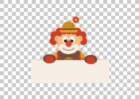 小丑卡通马戏团,可爱的卡通小丑设计材料PNG剪贴画卡通人物,生日