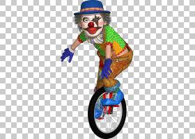 小丑绘图马戏团Cirque Joyeux Noel渲染,小丑PNG剪贴画卡通,表演