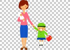 新加坡2015东南亚阴霾空气污染人体,母亲和女儿和婴儿卡通材料PNG