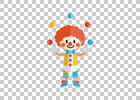 小丑马戏团,小丑PNG剪贴画橙色,小丑帽子,马戏团小丑,卡通,封装Po