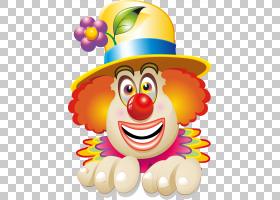 小丑马戏脸,快乐小丑PNG剪贴画食品,生日快乐矢量图像,笑脸,卡通,
