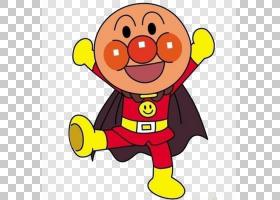 日本面包超人One Punch Man动漫漫画,可爱的面包超人PNG剪贴画爱