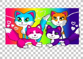 小猫胡须猫Neko Atsume Bakeneko,小猫PNG剪贴画哺乳动物,猫像哺