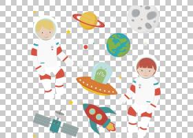 小说中的外星人,卡通空间PNG剪贴画卡通人物,海报,生日快乐矢量图