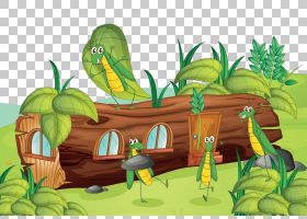 昆虫自然皇族,昆虫和树PNG剪贴画动物,摄影,树枝,棕榈树,草,动物