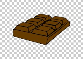 巧克力棒卡通,巧克力棒PNG剪贴画角,食品,矩形,免版税,牛奶巧克力