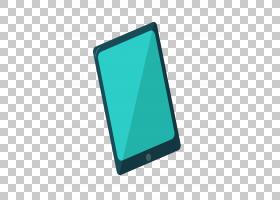 平板电脑个人电脑,绿色卡通平板电脑PNG剪贴画卡通人物,蓝色,角度