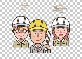 建筑工程建筑工程,微笑建筑工程师PNG剪贴画施工工具,帽子,手,人,
