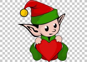 架子上的精灵圣诞老人圣诞精灵,圣诞精灵PNG剪贴画食品,叶,小精灵