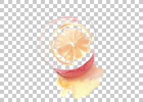 柠檬水水彩画,绘图柠檬水PNG剪贴画画,美食,摄影,手,橙色,卡通,水