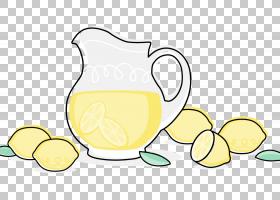 柠檬汁汁,柠檬水PNG剪贴画食品,电脑,卡通,水果,餐具,植物,餐具,