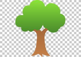 树,树PNG剪贴画叶,分支机构,草,卡通,树矢量,森林,植物,符号,动画