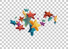 欧几里得,动态颜色明星PNG剪贴画颜色,卡通,封装PostScript,设计,
