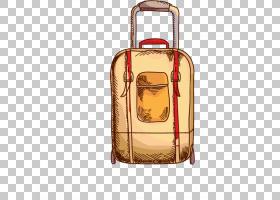 手提箱旅行卡通,手提箱PNG剪贴画行李包,海报,手提箱,复古手提箱,