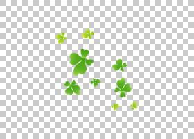 欧几里德四叶草,三叶草PNG剪贴画浮动,叶,草,花卉,卡通,鲜花,三叶