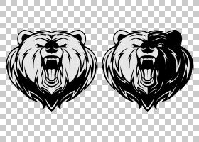 棕熊北美灰熊,熊卡通艺术品PNG剪贴画卡通人物,哺乳动物,猫像哺乳