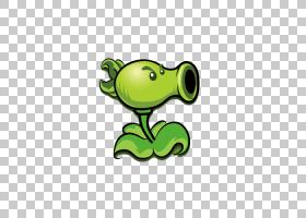 植物大战僵尸2:它关于时间豌豆欧几里得,豌豆射手PNG剪贴画植物