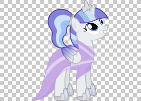 我的小马驹Derpy Hooves苹果绽放马,我的小马PNG剪贴画紫色,哺乳