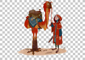 模型表人物概念艺术绘图,卡通人物控股骆驼PNG剪贴画卡通人物,动