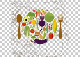 欧几里德蔬菜,蔬菜材料PNG剪贴画食品,生日快乐矢量图像,卡通,花