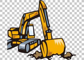 挖掘机反铲股票摄影,卡通挖掘机PNG剪贴画卡通人物,卡通武器,技术
