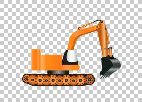 挖掘机重型设备图标,卡通挖掘机PNG剪贴画卡通人物,卡通武器,技术