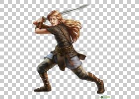 探路者角色扮演游戏龙与地下战士女d20系统,女战士PNG剪贴画业务