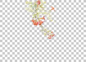 水彩画,古代美丽的水彩画,红色花画PNG剪贴画水彩叶子,花卉安排,