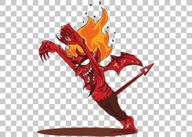 撒旦堕落的天使恶魔,愤怒的撒旦PNG剪贴画传奇生物,虚构人物,卡通