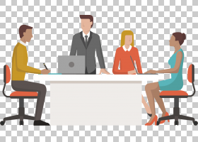 商学院公司信息会议,会议讨论PNG剪贴画家具,服务,公共关系,创新,