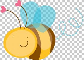 嗡嗡蜂,蜜蜂PNG剪贴画蜜蜂,文本,昆虫,电脑壁纸,笑脸,卡通,水果,